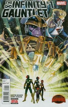 Infinity Gauntlet #1 Cover A 1st Ptg Regular Dustin Weaver Cover (Secret Wars. Warzones Tie-In)