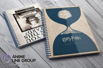 Harry Potter скетчбук