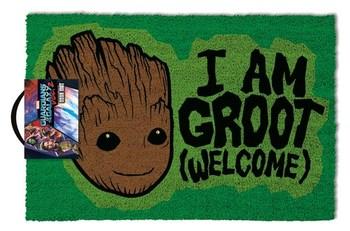Официальный придверный коврик Грут Стражи Галактики 2 / Groot Guardians of the Galaxy Vol. 2
