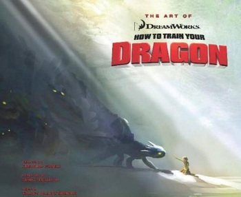 The Art of How to Train Your Dragon HC