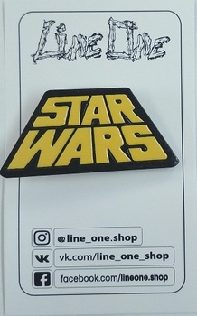 Деревянный значок Звёздные войны / Star Wars