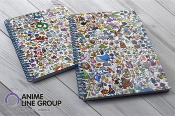 Pokemon скетчбук