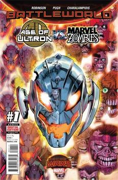 Age Of Ultron vs. Marvel Zombies #1 Cover A Regular Carlos Pacheco Cover (Secret Wars Battleworld Tie-In)