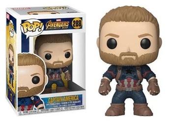 Фигурка-башкотряс Funko Капитан Америка (Война Бесконечности) / Captain America (Infinity War)