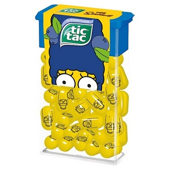 Tic Tac The Simpsons Драже со вкусом Черники
