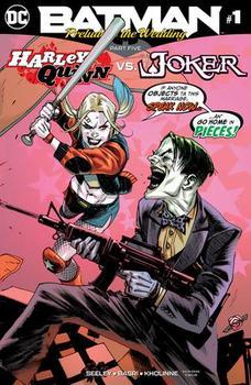 DC Universe. Batman. Prelude To The Wedding. Harley Quinn vs. Joker #1 Cover A Regular Rafael Albuquerque Cover