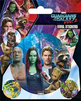 Официальный набор стикеров Стражи Галактики 2 / Guardians of the Galaxy Vol. 2