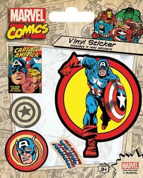 Официальный набор стикеров  Капитан Америка / Captain America