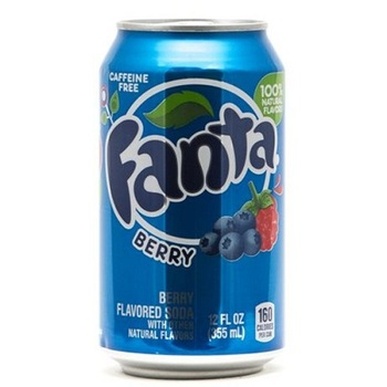 Fanta Ягоды (Банка 355 мл)