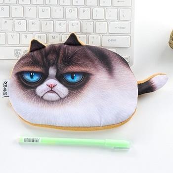 Пенал Угрюмый Кот / Grumpy Cat