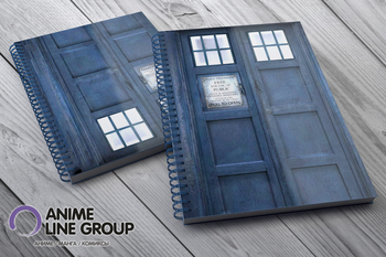 Скетчбук Doctor Who