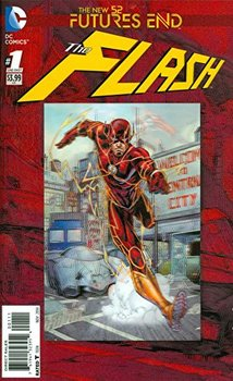 The Flash. Futures End #1 Cover A 3D Motion Cover