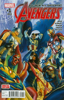 All-New All-Different Avengers #1 Cover A Regular Alex Ross Cover