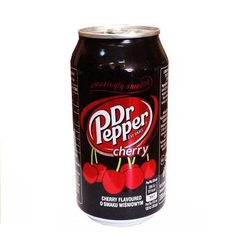 Dr Pepper Вишня (Банка 330 мл)