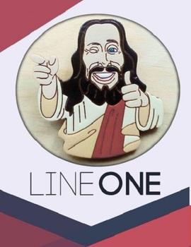 Деревянный значок Дружище Христос / Buddy Christ