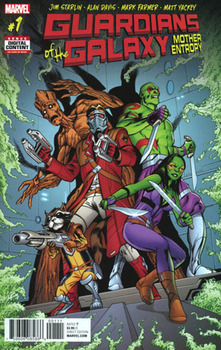 Guardians Of The Galaxy. Mother Entropy #1 Cover A Regular Alan Davis Cover