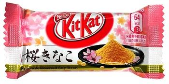 KitKat Сакура и Жареная Соя (Батончик)
