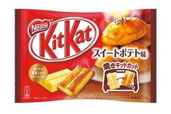 KitKat Упаковка сладкая картошка 150 г.