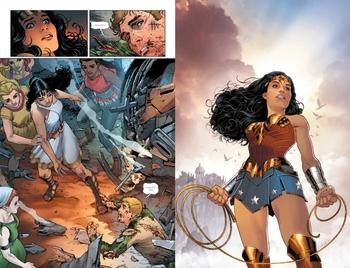 Вселенная DC Rebirth. Чудо-Женщина. Книга 2. Год первый