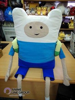 Игрушка-подушка Финн Время Приключений / Adventure Time