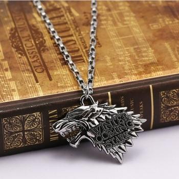 Кулон Старк Игра Престолов / Stark Game of Thrones