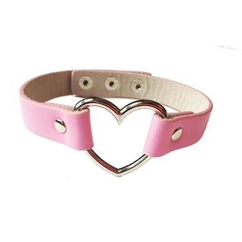 Чокер Сердце (Розовый)