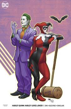 DC Universe. Harley Quinn. Harley Loves Joker #1 Cover B Variant Frank Cho Cover