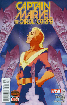 Captain Marvel And The Carol Corps #3 Cover A Regular David Lopez Cover (Secret Wars Warzones Tie-In)