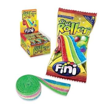 Жевательная конфета Fini Roller Фруктовая радуга