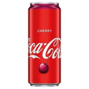Coca-Cola Вишня (Банка 330 мл)