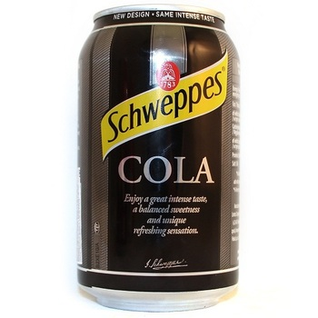 Schweppes Кола (Банка 330 мл)