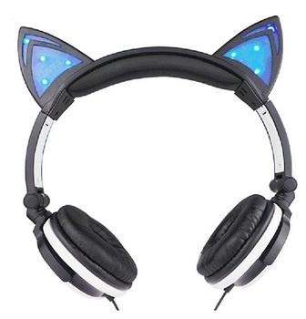 Наушники Cat Ears с подсветкой (в ассортименте)