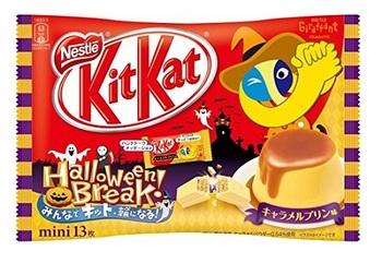 KitKat Halloween Карамельный Пудинг (Большая упаковка)
