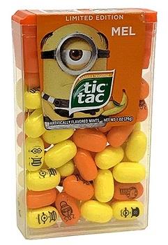 Tic Tac Despicable Me 3 Драже со вкусом Банана и Танжерина