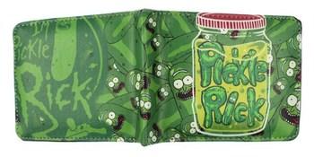 Бумажник Огурчик Рик (Рик и Морти) / Pickle Rick (Rick and Morty)