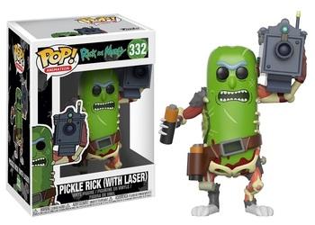 Фигурка Funko Огурчик Рик с лазером (Рик и Морти) / Pickle Rick with Laser (Rick and Morty)