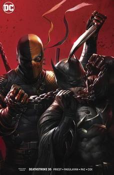 DC Universe. Deathstroke #35 Cover B Variant Francesco Mattina Cover