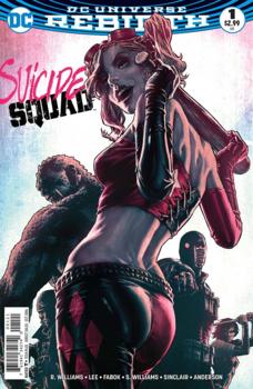 DC Universe Rebirth. Suicide Squad #1 Cover D Variant Lee Bermejo Cover