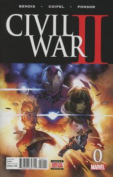 Civil War II #0 Cover A 1st Ptg Regular Olivier Coipel Cover (Road To Civil War II Tie-In)