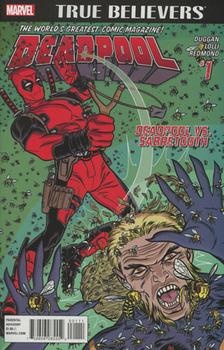 True Believers. Deadpool. Deadpool vs. Sabretooth #1