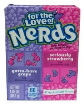 Конфеты Nerds Gotta-Have Grape / Seriously Strawberry