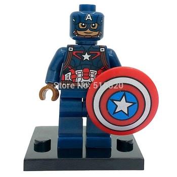Минифигурка Капитан Америка / Captain America (Avengers: Age of Ultron)