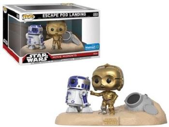 Комплект фигурок-башкотрясов Funko Р2-Д2 и Си-Трипио Звёздные Войны Моменты Фильма / R2-D2 & C-3PO Star Wars Movie Moments (ЭКСКЛЮЗИВ)