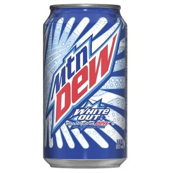 Mountain Dew White Out Цитрус (Банка 355 мл)