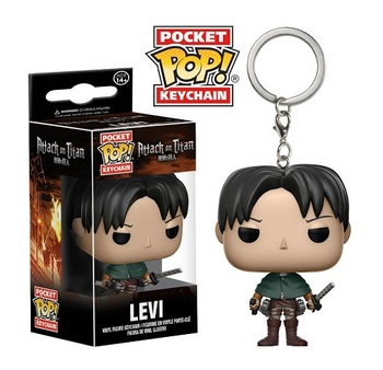 Брелок-фигурка Funko Леви Атака на Титанов / Levi Attack on Titan / Shingeki no Kyojin