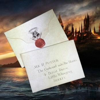 Письмо из Хогвартса Гарри Поттер / Hogwarts Acceptance Letter Harry Potter