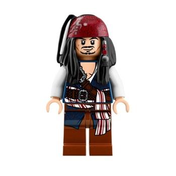 Минифигурка Джек Воробей / Jack Sparrow