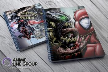 Скетчбук Spider-Man vs Venom