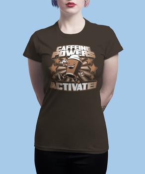 Футболка Caffeine Powers Activate!
