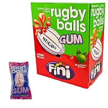 Жевательная резинка Fini Rugby Balls